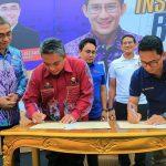 Kerjasama dengan Kota Banjar Baru Kalimantan Selatan