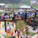Bukit Sekipan Ikon Tempat Wisata Tawangmangu yang Instagramable