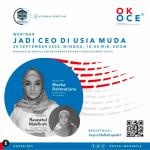 Agenda 20 Sept 2020 : Webinar Jadi CEO di Usia Muda