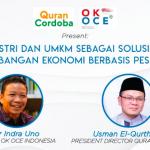 Indra Uno : Kolaborasi Antar Penggerak Komunitas OK OCE untuk Ekonomi Umat dan Lapangan Kerja