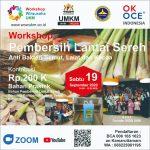 Agenda 19 Sept 2020 : Workshop Produksi Pembersih Lantai Sereh