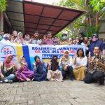 Roadshow OK OCE INA Makmur di 4 Kabupaten Jawa Timur : Banjir Closing
