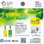 Agenda 26 Sept 2020 : Workshop Membuat Sabun Cair